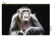 Fractal Chimp Carry-all Pouch