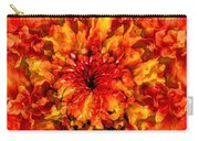 Fractal Chrysanthemum Carry-all Pouch