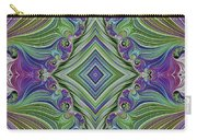 Fractal Cross Carry-all Pouch