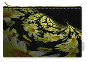 Fractal Daisies Carry-all Pouch