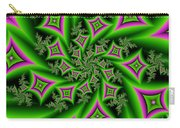 Fractal Dancing Shapes Carry-all Pouch