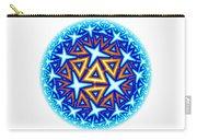 Fractal Escheresque Winter Mandala 10 Carry-all Pouch