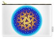 Fractal Escheresque Winter Mandala 6 Carry-all Pouch