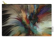 Fractal Feathers Carry-all Pouch