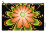 Fractal Floral Decorations Carry-all Pouch