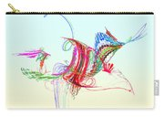 Fractal - Flying Bird Carry-all Pouch