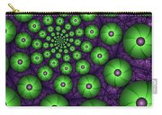 Fractal Green Shapes Carry-all Pouch