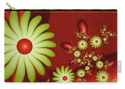 Fractal Happy Flowers 2 Carry-all Pouch