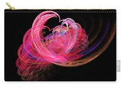 Fractal - Heart - Lets Be Friends Carry-all Pouch