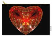 Fractal - Heart - Open Heart Carry-all Pouch