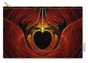 Fractal - Heart - Victorian Love Carry-all Pouch