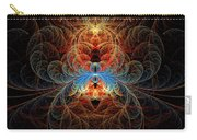 Fractal - Insect - Black Widow Carry-all Pouch