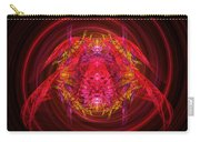 Fractal - Insect - Jeweled Scarab Carry-all Pouch