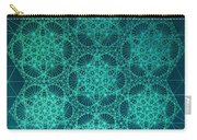 Fractal Interference Carry-all Pouch by Jason Padgett