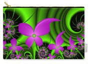 Fractal Neon Fantasy Carry-all Pouch