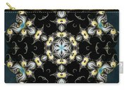 Fractal Seahorses Carry-all Pouch by Derek Gedney