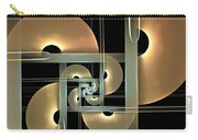 Fractal Semicircles Carry-all Pouch