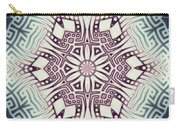 Fractal Snowflake Pattern 1 Carry-all Pouch