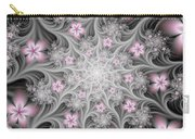 Fractal Soft Flowers Carry-all Pouch