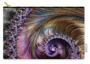 Fractal Spiral 2 - A Fractal Abstract Carry-all Pouch