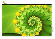 Fractal Sweet Yellow Fruits Carry-all Pouch