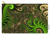 Fractal The Desert Is Living Carry-all Pouch