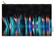 Fractopolis Skyline At Night Carry-all Pouch