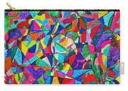 Fractured Kaleidoscope Carry-all Pouch