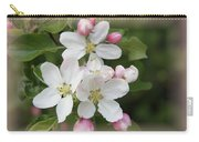 Framed Apple Blossom Carry-all Pouch