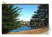 Framed By Cypress Trees Carry-all Pouch
