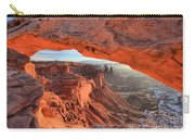 Framed By Mesa Arch Carry-all Pouch