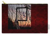 Framed Cherry Blossoms - Featured In Comfortable Art And Nature Groups Carry-all Pouch