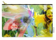 Framed In Flowers Carry-all Pouch