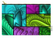 Framed Neon Colors Carry-all Pouch