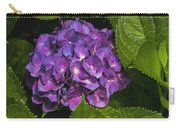 Framed Purple Blue Hydrangea Blossom Carry-all Pouch