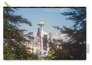 Framed Space Needle Carry-all Pouch
