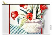 Framed Tulips Carry-all Pouch