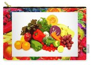 Framed Veggies Carry-all Pouch