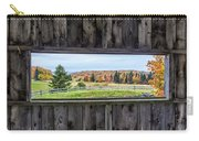 Framed-autumn In Vermont Carry-all Pouch