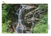Framed Waterfalls On Mount Rainier Carry-all Pouch
