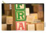 Fran - Alphabet Blocks Carry-all Pouch