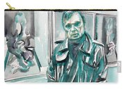 Francis Bacon Watercolor Portrait.3 Carry-all Pouch