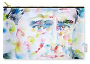Francis Picabia - Watercolor Portrait Carry-all Pouch