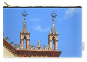 Franciscan Monastery In Nice France Carry-all Pouch by Ben and Raisa Gertsberg