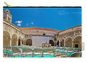 Franciscian Monastery In Hvar Panorama Carry-all Pouch