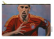 Franck Ribery Carry-all Pouch by Paul Meijering