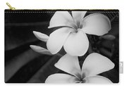 Frangipani Blossoms Carry-all Pouch