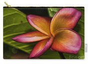 Frangipani Creation Carry-all Pouch