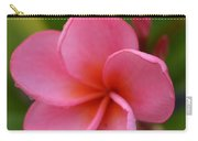 Frangipani With Dew Drops Carry-all Pouch