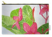 Frangipani Tree Carry-all Pouch